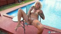PornMegaLoad   Amelia Mack   Poolside Pussy