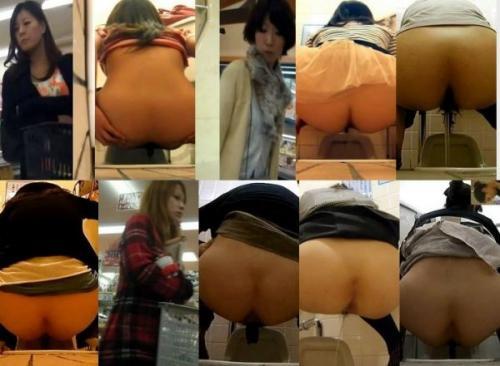 Pooping Voyeur #3 ス-パ―・デパ-トトイレ 主婦・妊婦・…