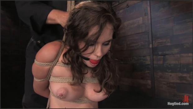 Kink.com- Welcome Charlotte Valeto Hogtied