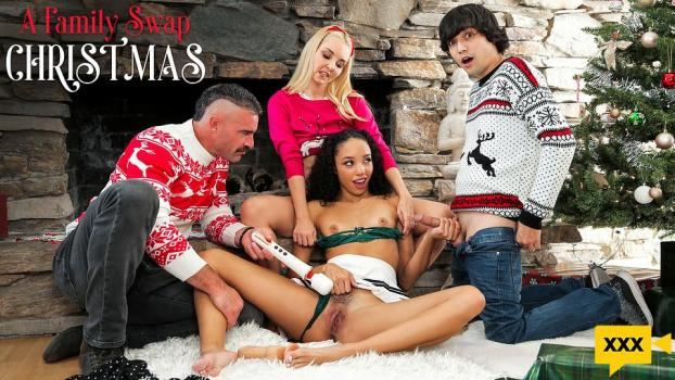 Family Swap – Aaliyah Love & Alexis Tae: A Family Swap Christmas (2020/FULLHD)