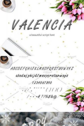Valencia Script Font