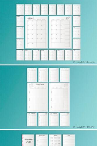 Calendar A5 PDF