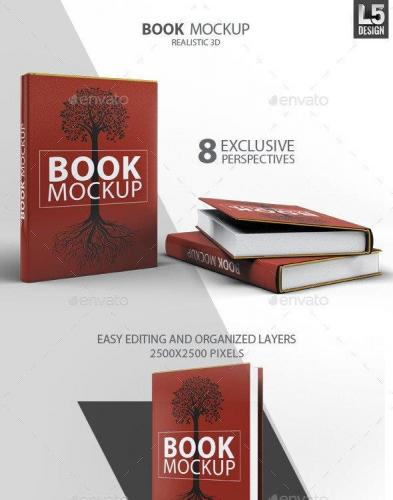 Book Mock-Up 11175795
