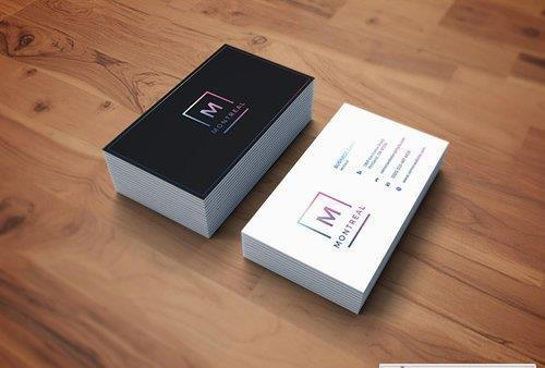 Photorealistic Business Card