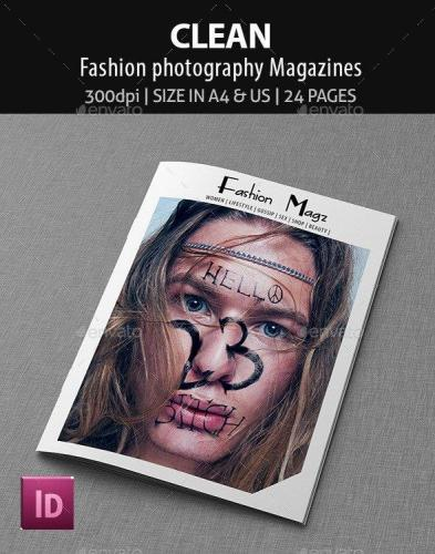 Clean - Fashion photography Magazines