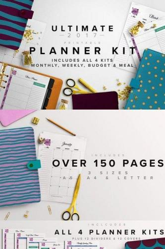 Ultimate Planner Kit- 3 Sizes