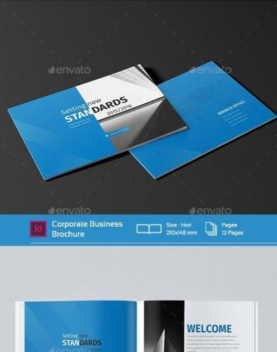 Mini Business Brochure 12 Pages A5