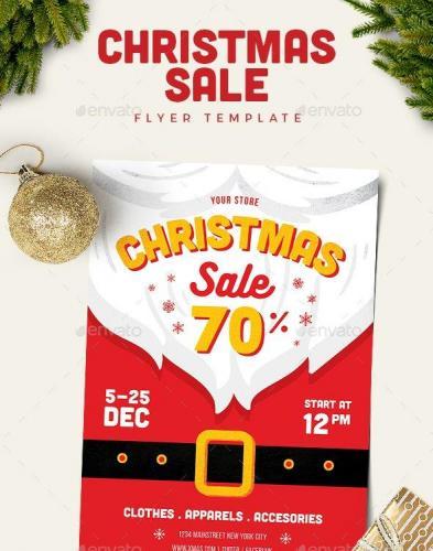 Christmas Sale Flyer 18999428