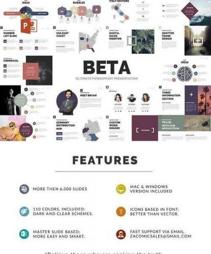 Beta Powerpoint Template