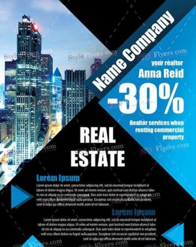 Real estate PSD V17 Flyer Template