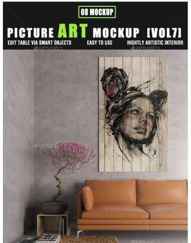 Picture Art Mockup [Vol 7]
