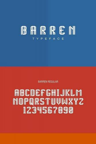 BARREN TYPEFACE