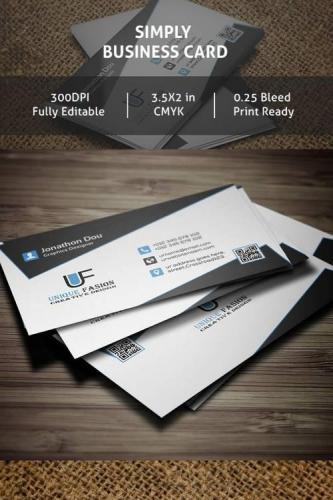 Simply PSD Business Card