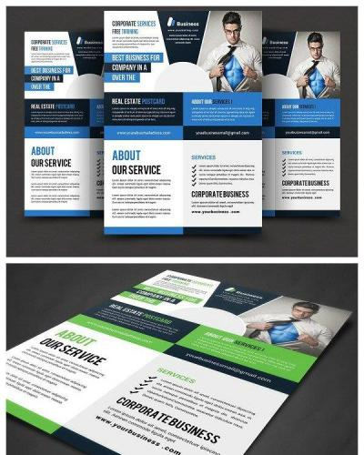 Corporate Flyer Print Templates 1122779