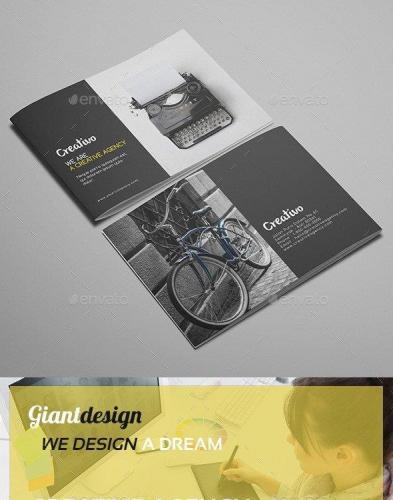 Creative Agency - A5 Portfolio Brochure Vol2
