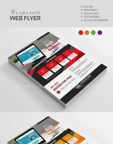 Corporate Web Flyer 10770