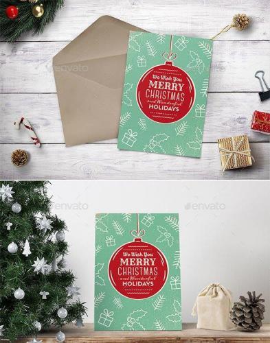 Christmas Greeting Card-Poster