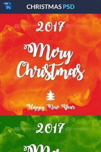 Christmas PSD 11095
