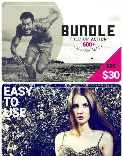 600+ Premium Photoshop Actions