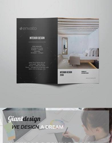 Interior Design Bifold Brochure