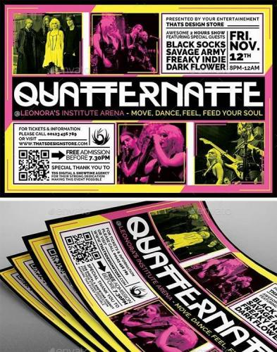 Live Concert Flyer Template V17