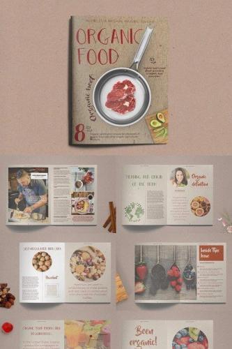 Organic Food Brochure - Magazine