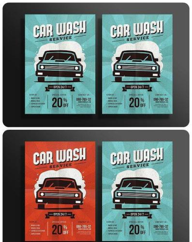 Car Wash Flyer 1138609