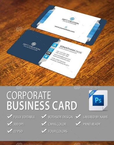 Corporate Business Card 9941
