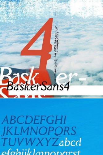 BaskerSans4 font