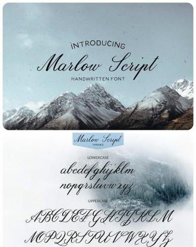 Marlow Handmade Font